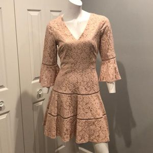 NWOT Lace fit and flare dress
